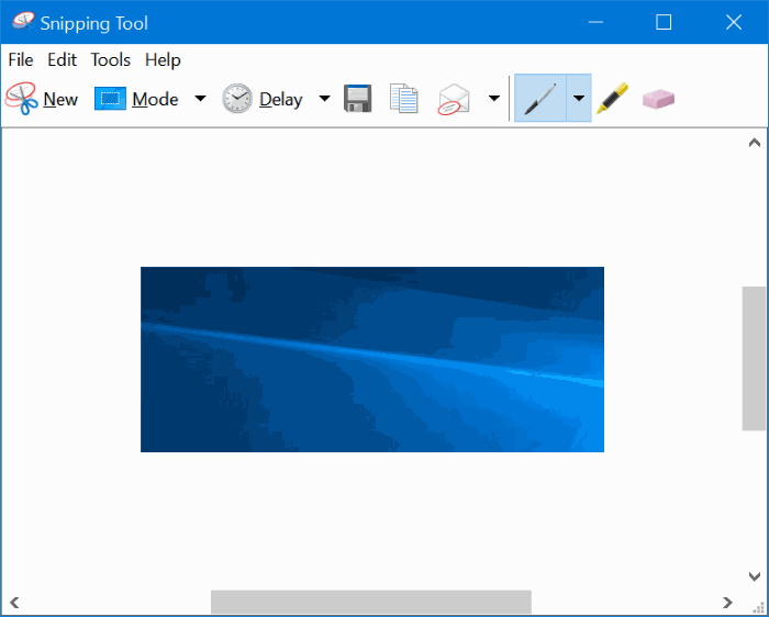 Enable or disable snipping tool in Windows 10 pic01