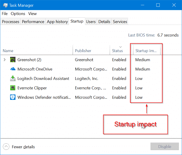 find out programs slowing down Windows 10 boot pic3