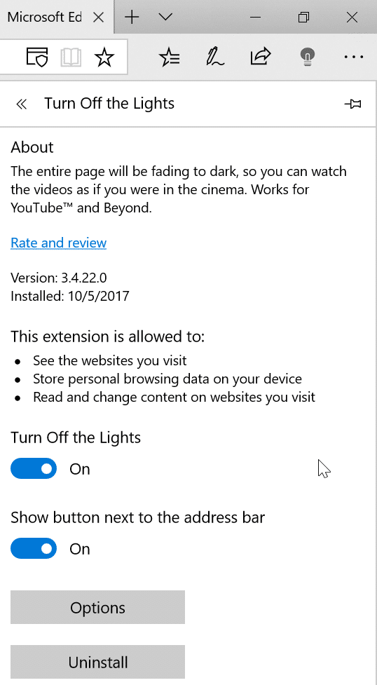 fix Edge browser is slow in Windows 10 pic03
