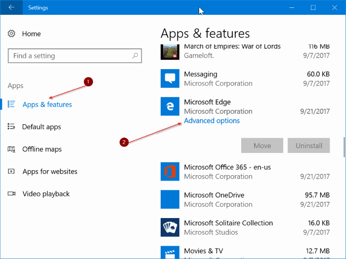 fix Edge browser is slow in Windows 10 pic1