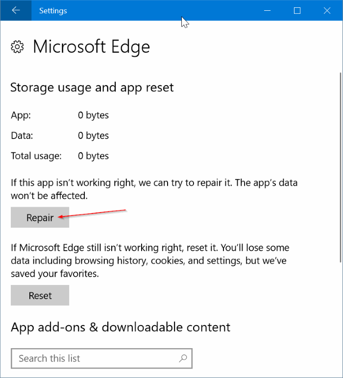 fix edge browser is slow in Windows 10