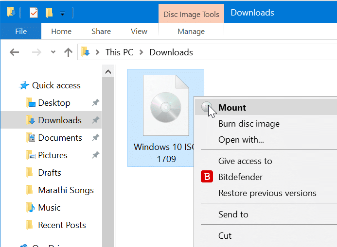 repair Windows 10 install without losing apps and data pic01