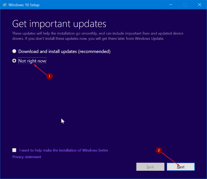 repair Windows 10 install without losing apps and data pic4