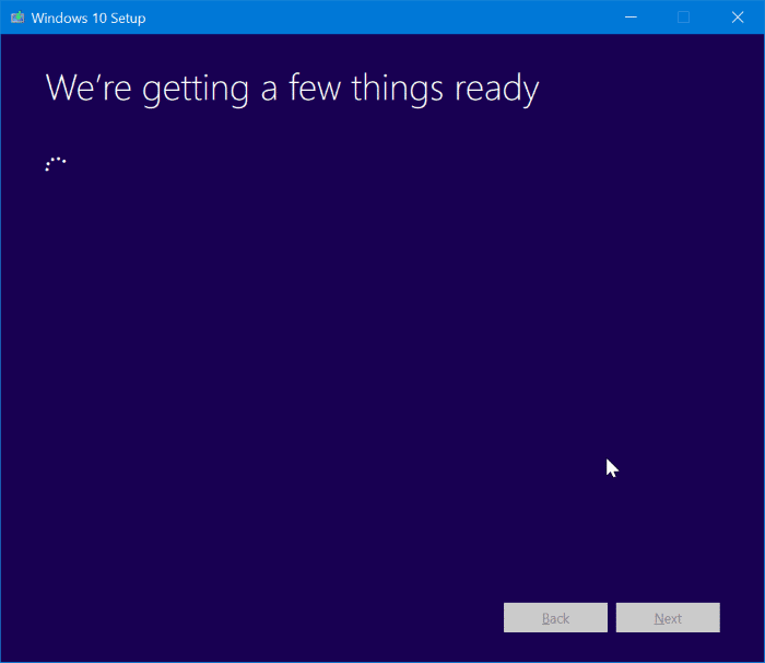 repair Windows 10 install without losing apps and data pic5