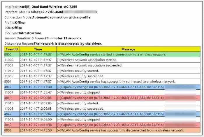 view Wifi history report in Windows 10 pic02