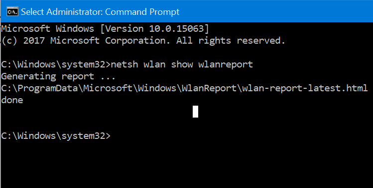 view Wifi history report in Windows 10 pic1