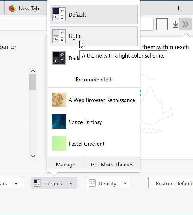 How To Disable Color On Firefox 57 Tabs And Tab Bar