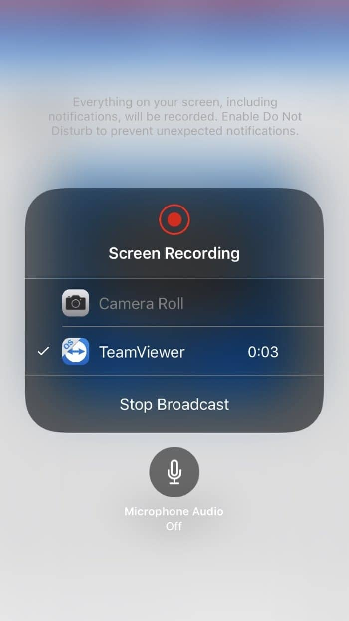 Mirror iphone screen on Windows 10 PC using TeamViewer (5)