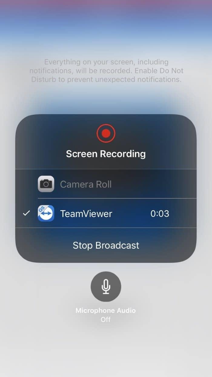 Mirror iphone screen on Windows 10 PC using TeamViewer (5)