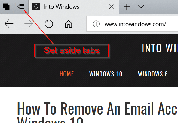 avoid accidentally closing tabs in Edge browser in Windows 10 pic3