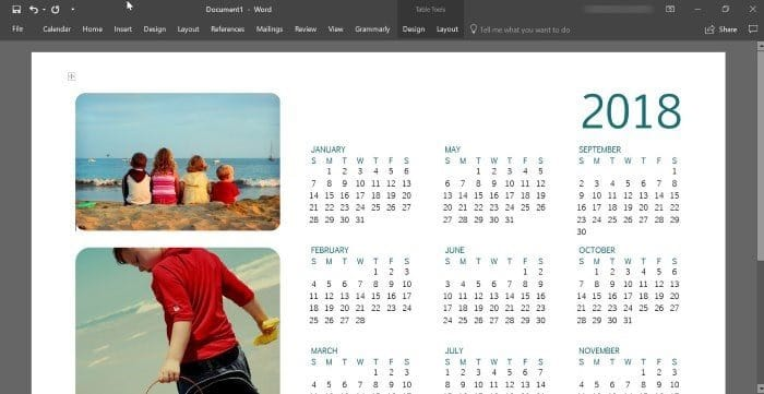 how to create a calendar in excel 2010