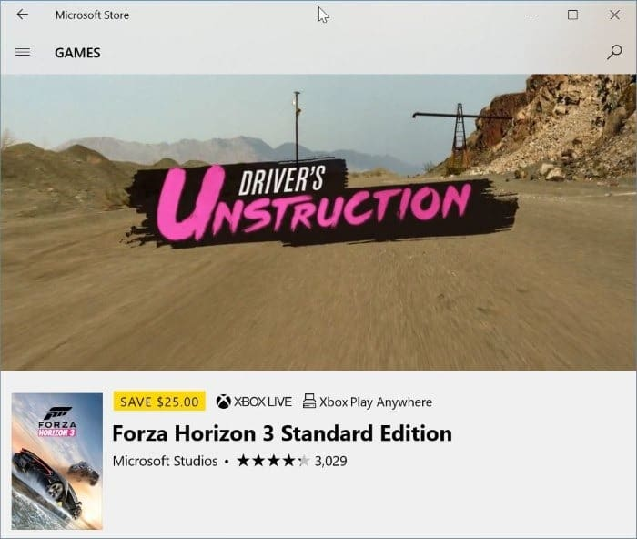 Prevent Videos From Automatically Playing In Windows Store In Windows 10