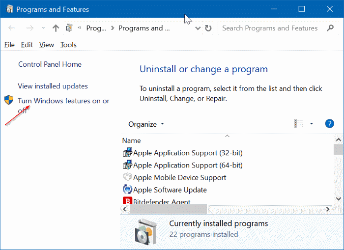 remove Microsoft XPS Document Writer from Windows 10 pic5