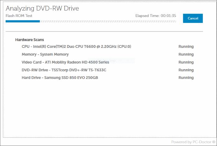 Check Dell PC for CPU, RAM, SSD Errors (7)