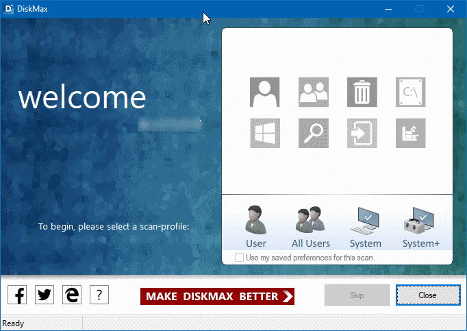 DiskMax for Windows 10 pic1