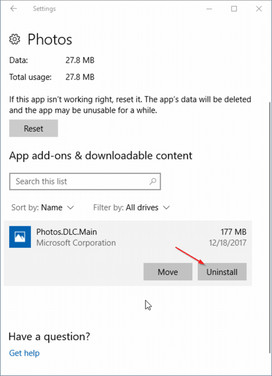 How To Uninstall App Add-ons In Windows 10