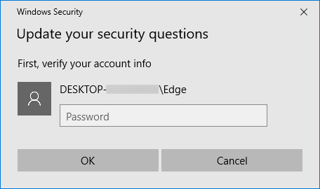 add security questions to local user accounts in Windows 10 pic2