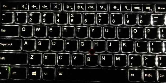adjust backlit keyboard brightness in Windows 10