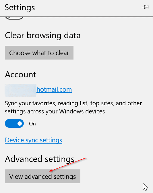 make Edge browser save passwords in Windows 10 pic2