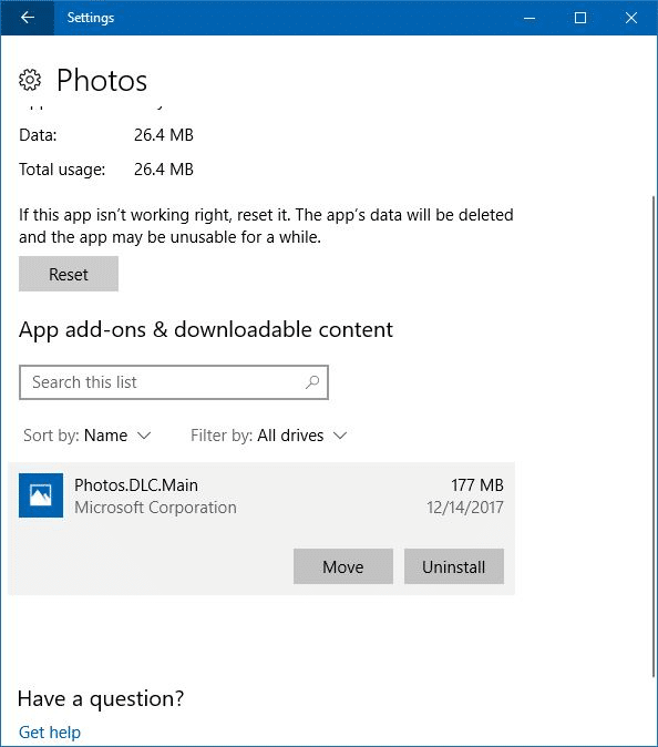 photos add-on for photos app in Windows 10 pic2