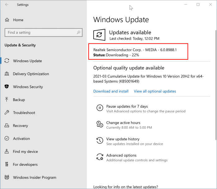 reinstall the sound driver in Windows 10 pic9