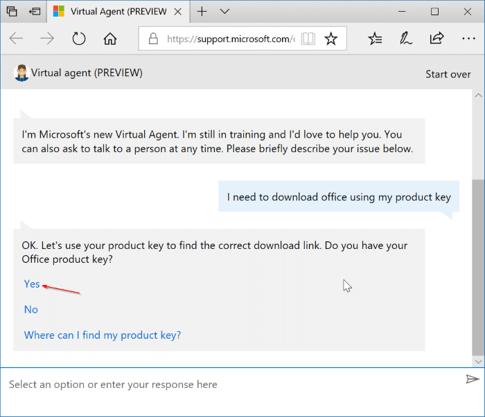 check if your Office 2016 or 2013 product key is valid pic1