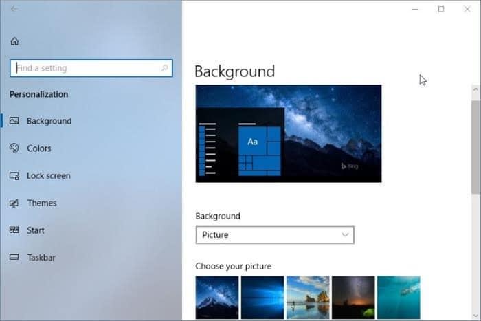 disable fluent design in Windows 10 pic2