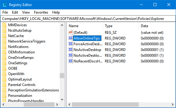 disable videos in the settings app in windows 10pic2