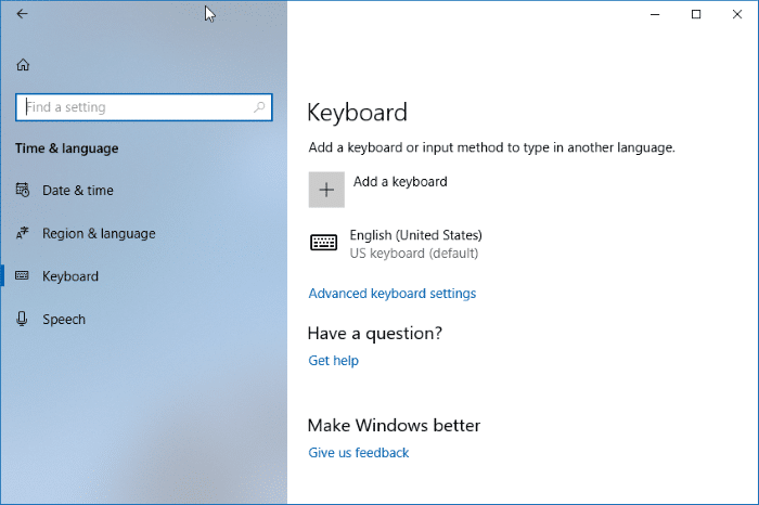 enable text suggestions for hardware keyboard in Windows 10 pic2