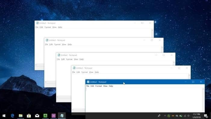 Easy Way To Open Multiple Instances Of A Program In Windows 10