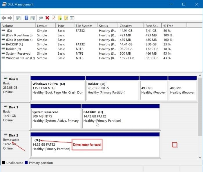 Fix: SD Card Not Showing Up In Windows 10 File Explorer