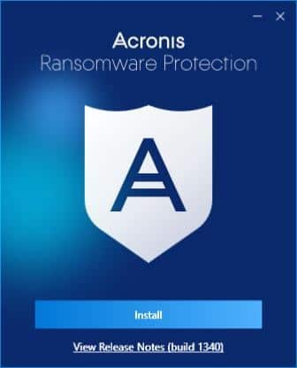 Download Acronis Ransomware Protection Free For Windows 10