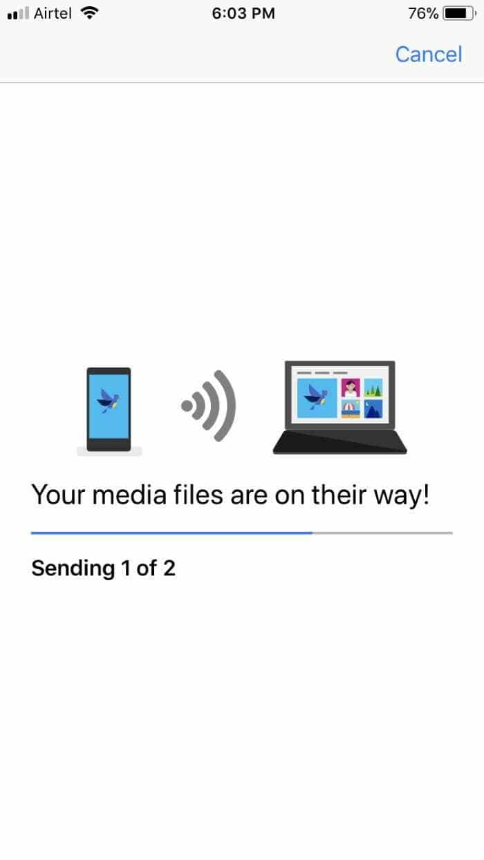 Wirelessly transfer photos from iPhone to Windows 10 (14)