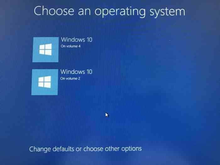Change boot order in Windows 10 (1)