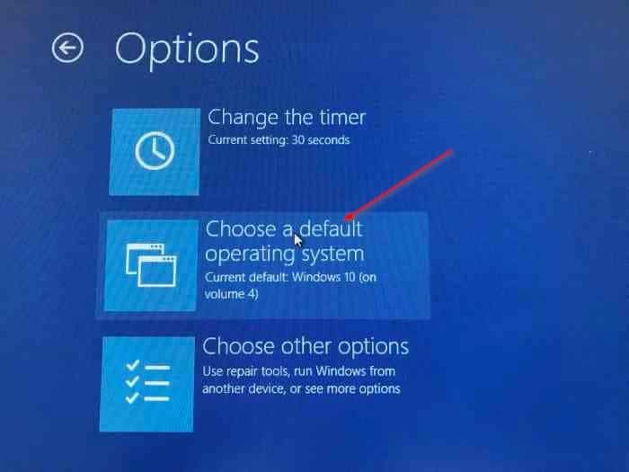 Change boot order in Windows 10 (2)