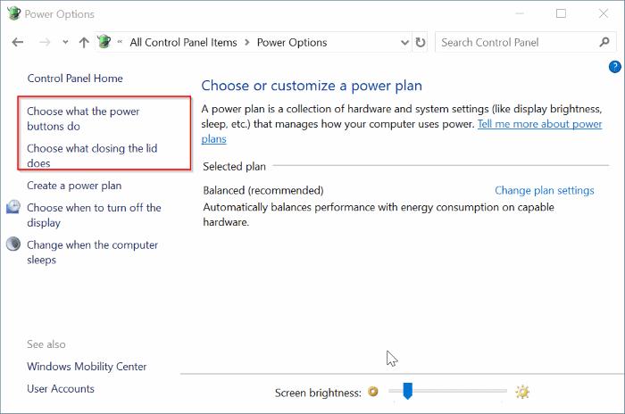 add hibernate option to power menu in Windows 10 Start pic3