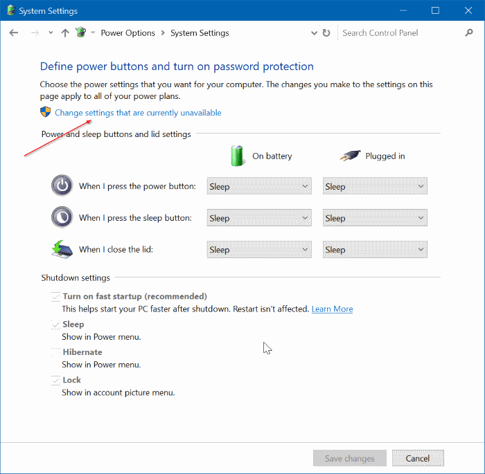 How to Enable Or Disable Hibernate Mode In Windows 10