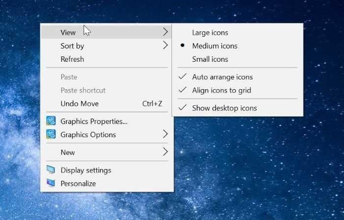 cannot right click on desktop in Windows 10 pic01