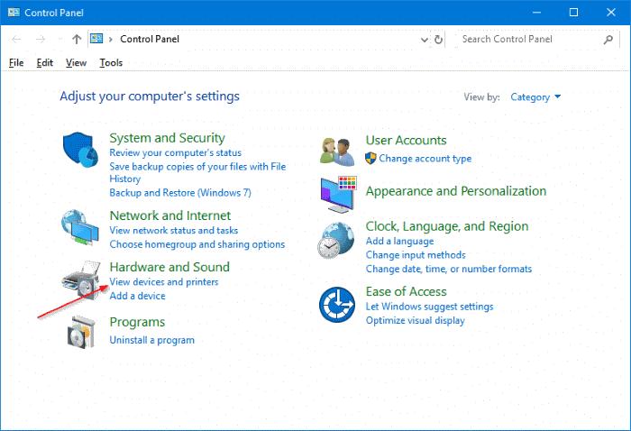 change printer name in Windows 10 pic5