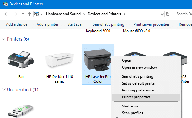 How To Change Printer Name In Windows 10