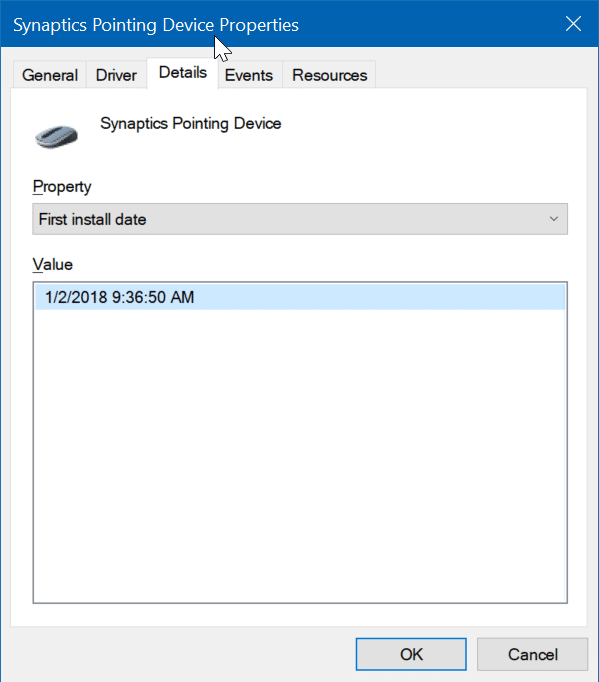 check install date of drivers in Windows 10 pic3
