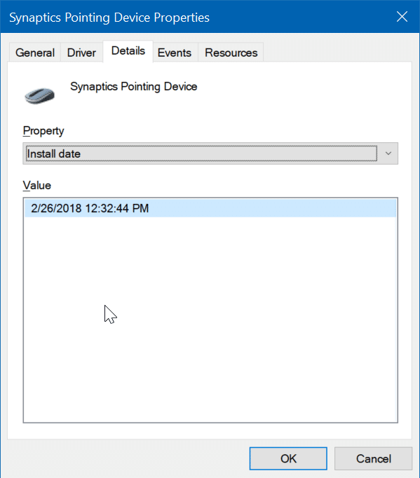 check install date of drivers in Windows 10 pic4
