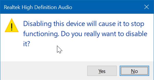 disable laptop speaker in Windows 10 pic6