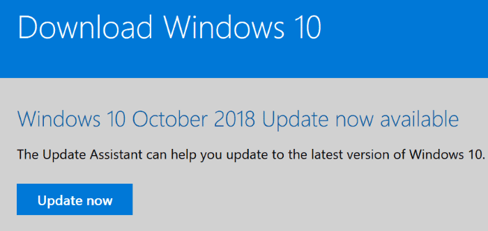 Windows 10 October 2018 Update (Version 1809)