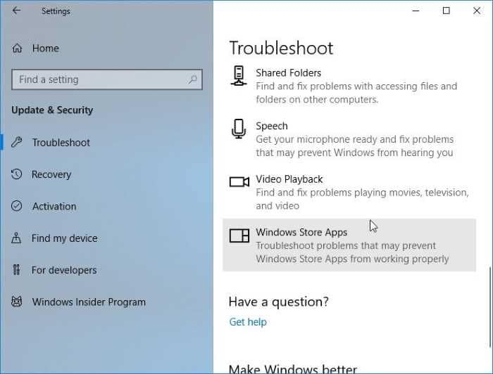 restore missing Store app in Windows 10 pic5