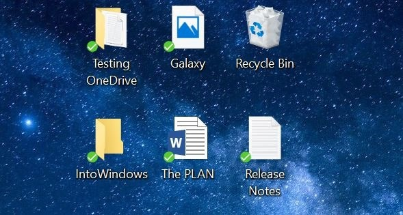 Save Desktop, Documents & Pictures To OneDrive In Windows 10