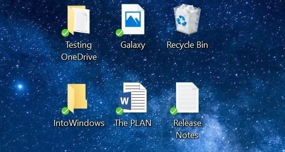 save desktop, document and pictures folders in OneDrive in Windows 10 pic01