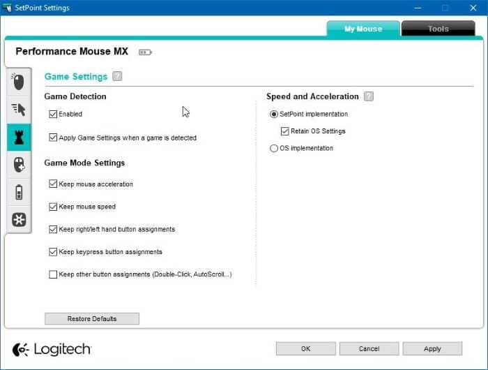 Download Logitech Mouse Software For Windows 10