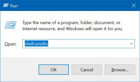 add folders to send to menu in Windows 10 pic3