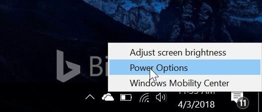prevent laptop from starting upon opening the lid in windows 10 pic1